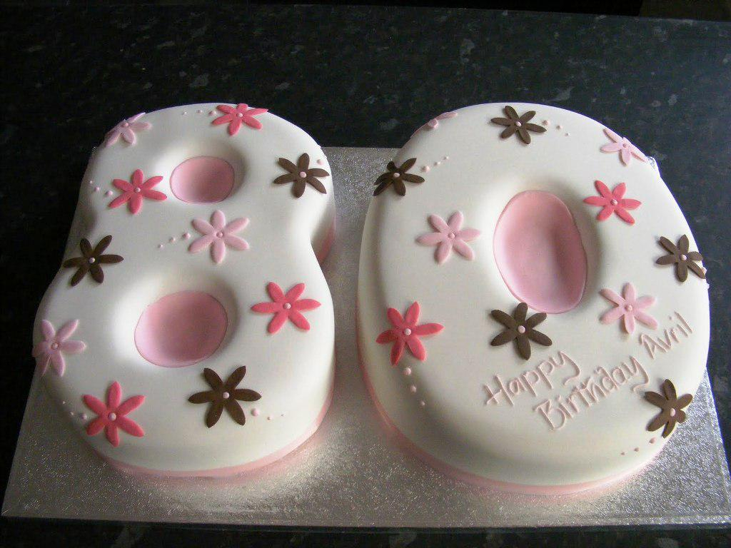 Womens Birthday Cake Ideas 80th Cakes For Women Classic Style Best