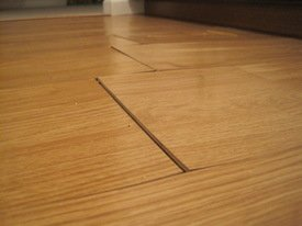 Warped Laminate Flooring