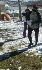 Bola de nieve va!