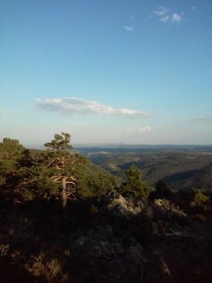 Vistas a la Sierra de Albarracín
