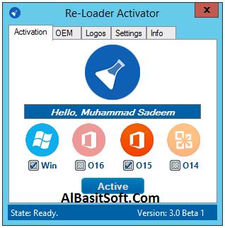 Re-Loader Activator 3.0 Beta 3 Multilingual [Latest] Free Download(AlBasitSoft.Com)