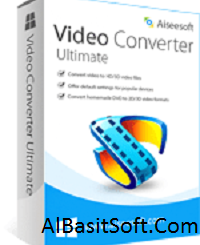 Aiseesoft Video Converter Ultimate 9.2.56 With Crack Free Download(AlBasitSoft.Com)