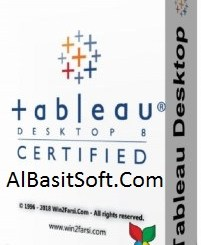 Tableau Desktop Professional Edition 2018.2.3 With Crack Free Download(AlbasitSoft.Com)