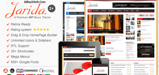 Jarida Theme for WordPress Free Download(AlBasitSoft.Com)