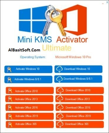 Mini KMS Activator Ultimate 1.5 With Crack Free Download(AlBasitSoft.Com)