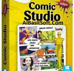 Digital Comic Studio Deluxe 1.0.5.0 With Crack Free Download(AlBasitSoft.Com)