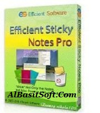 Efficient Sticky Notes Pro 5.60 Build 555 With Crack Free Download(AlBasitSoft.Com)