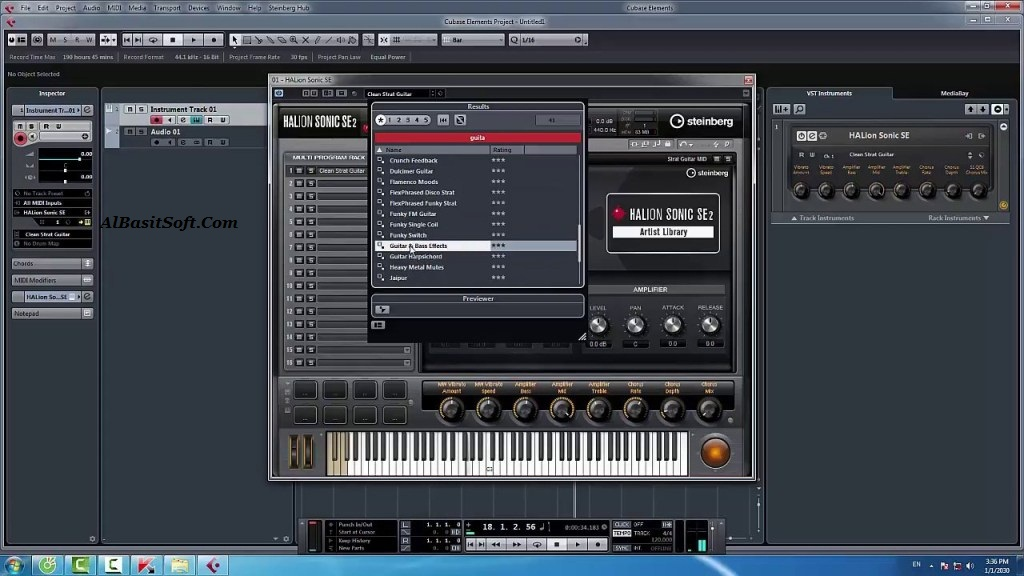 Steinberg Cubase Elements 10.0.40 (x64) With Crack Free Download(AlBasitSoft.Com)