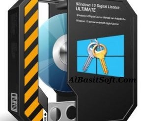 Windows 10 Digital License Ultimate 1.5 With Crack Free Download(AlBasitSoft.Com)