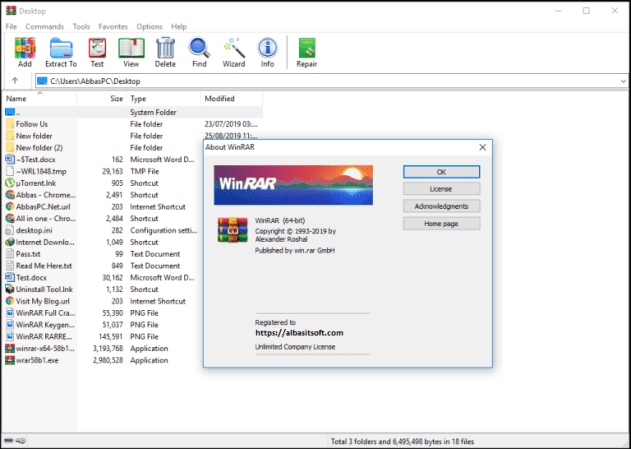 WinRAR 6.01 With Crack Free Download [Latest] 2021