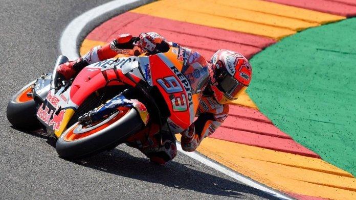 Marquez nuk ka të ndalur, pole position në pistën e Aragonit