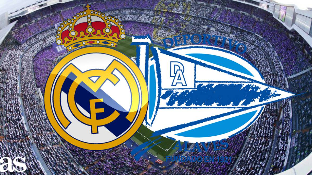 Formacionet zyrtare  Real Madrid   Deportivo Alaves