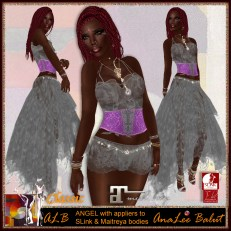 ALB ANGLE dress gray