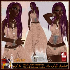 ALB ANGLE dress sienna