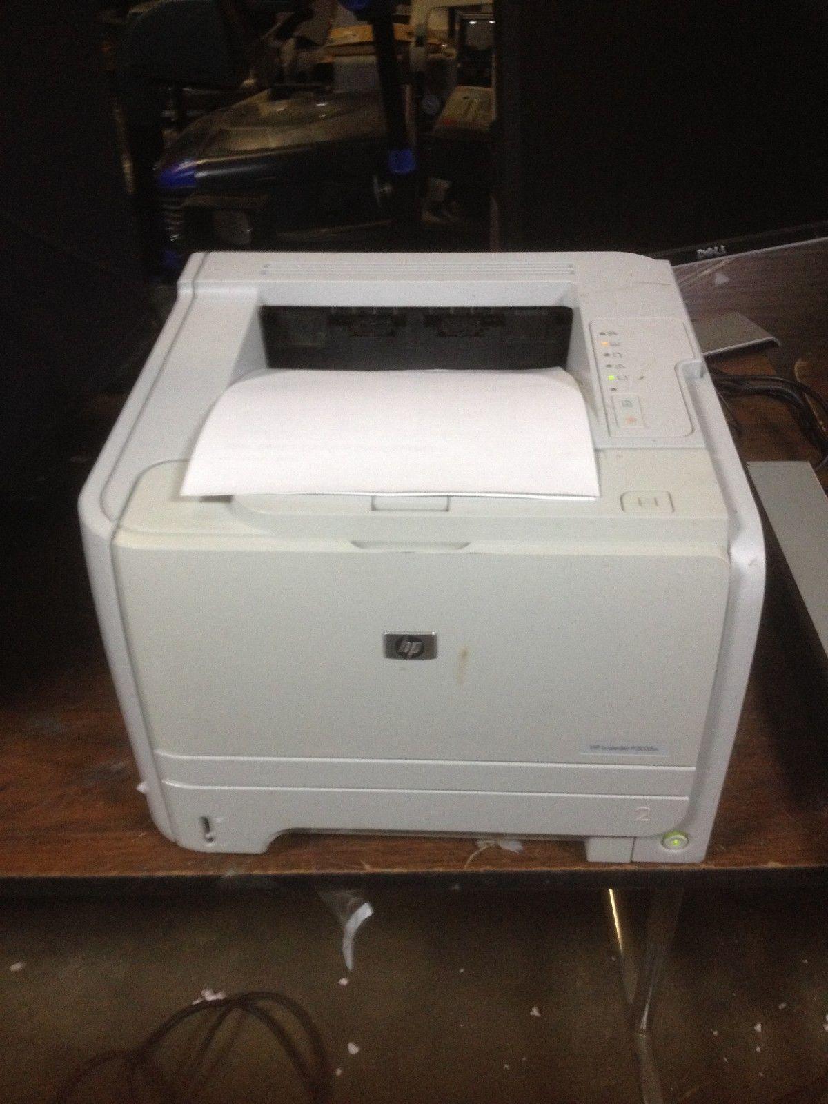 Hp Laserjet P2035n Workgroup Laser Printer P2035 Network