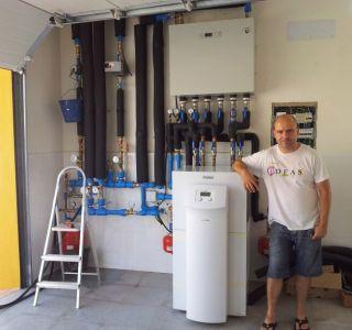 Primera bomba de calor geotérmica de Albedo Solar