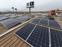 Placas Solares en la Gasolinera