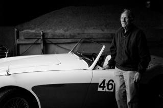 Jens Åge Preisler, racerkører, 81 år.