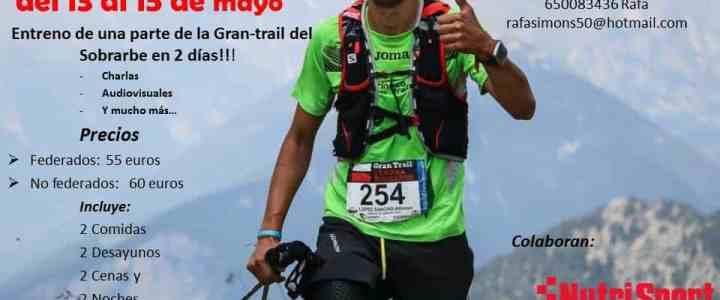 """Entreno de la """"Gran-trail del Sobrarbe"""""""