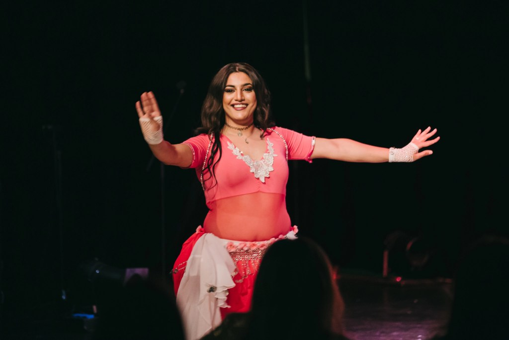 Zeina in Belly Dance Outfit