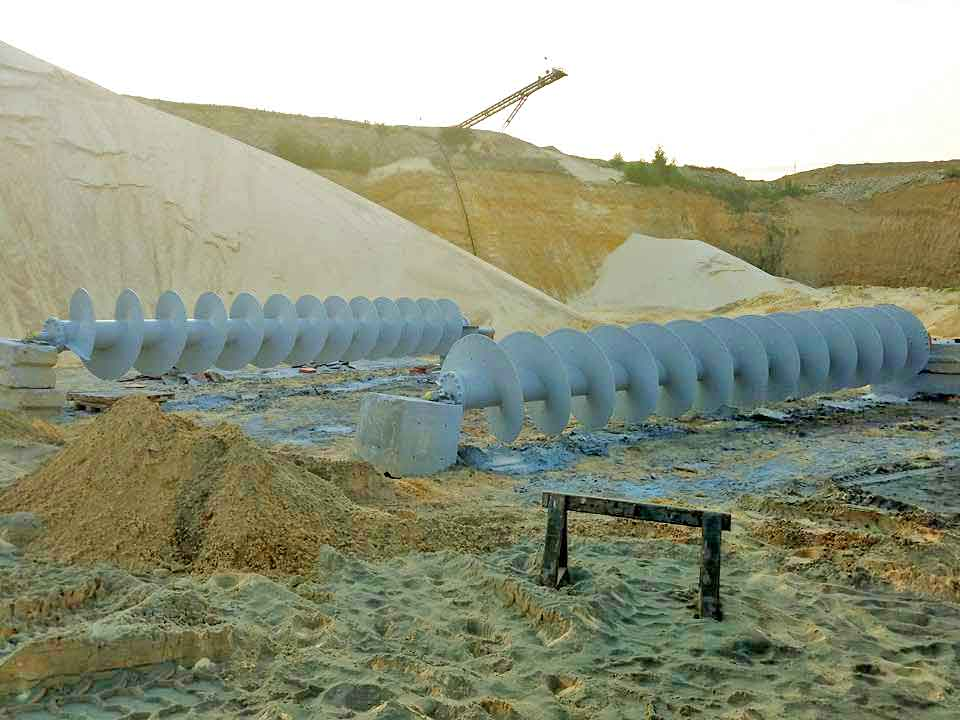 Coated Mining Equipment