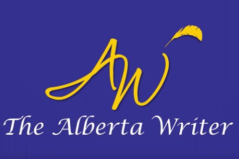 links to The Alberta Writer's video intro and exit on YouTube