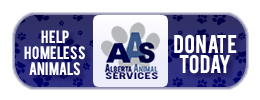 Alberta Animal Services Make a Donation with PayPal