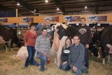 westerner championship dairy showcase skycrest holsteins