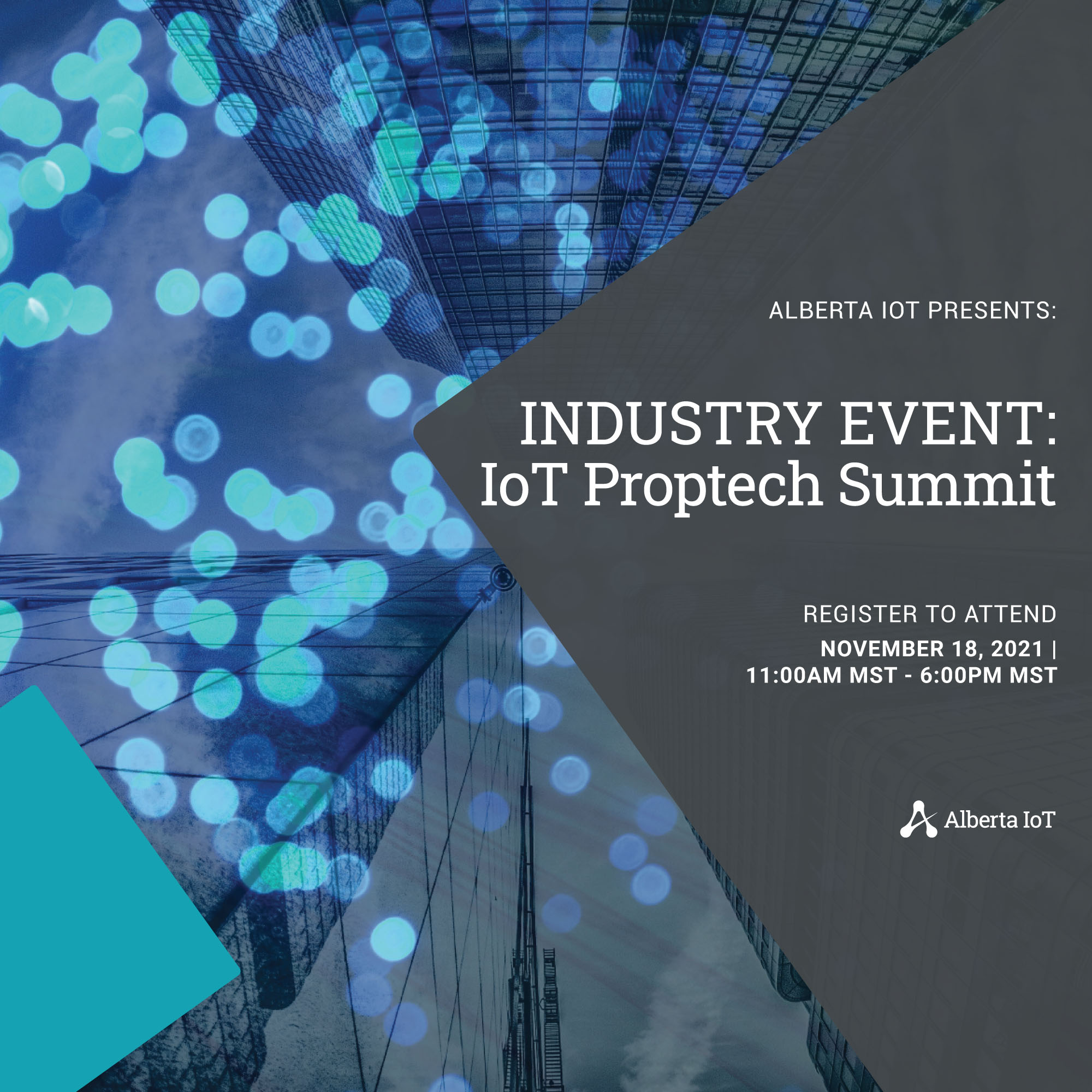 IoT Proptech Summit November 2021