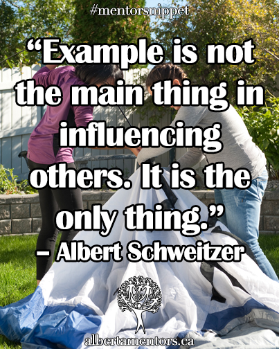 Example is not the main thing in influencing others. It is the only thing