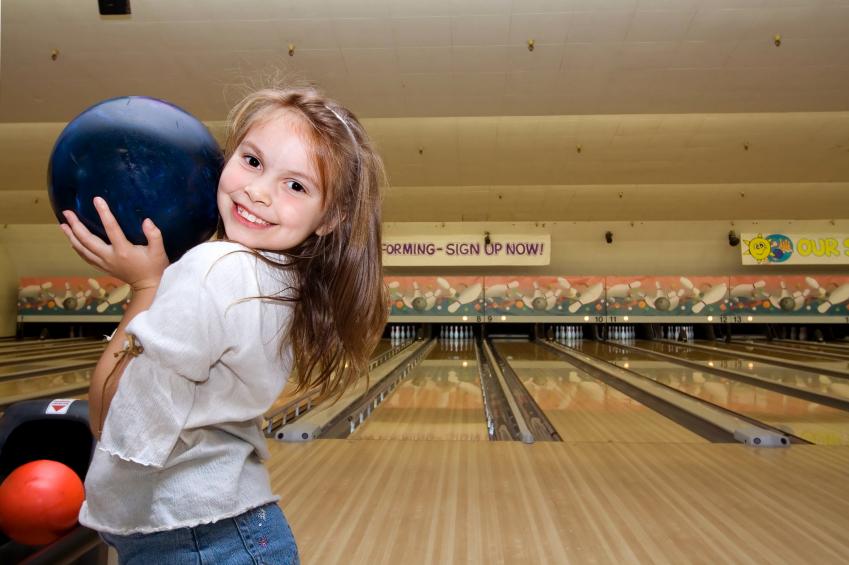 Mentoring Girl Bowling