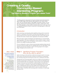 creating-a-quality-community-based-mentoring-program