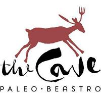 The Cave Paleo Beastro logo
