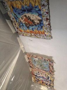 mosaico a soffitto