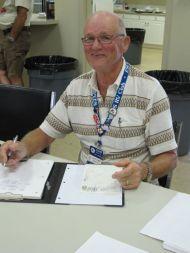 John, outgoing Secretary