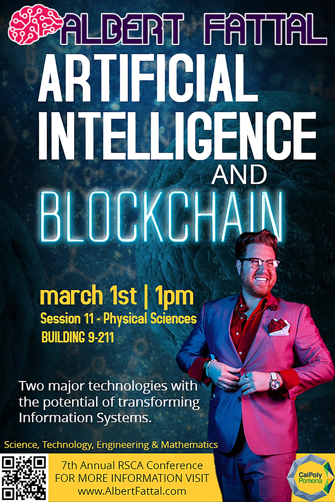 Albert Fattal Artificial Intelligence Blockchain Information Systems