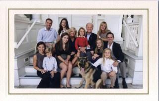 Vice President Joe Biden and family
