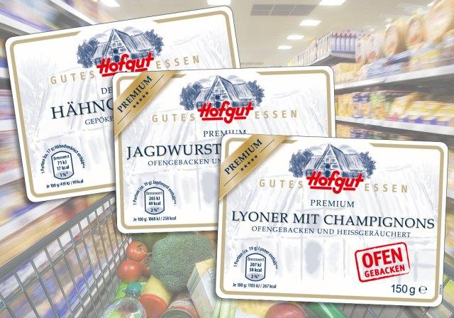 Serien-Etiketten für eine große deutsche Handelskette