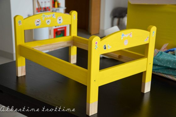 customisation le lit de poupee ikea