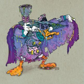 Darkwing Duck Zombie