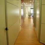 Corridoio dalla sala corsi.