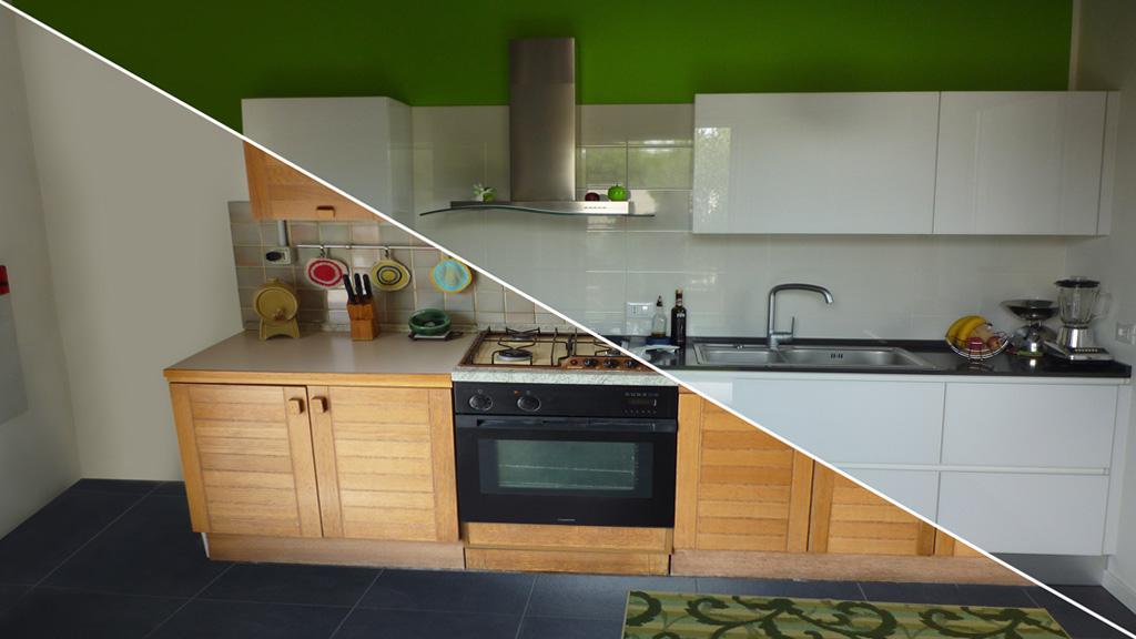 Rinnovo cucine cambia solo le ante della tua cucina design e