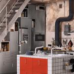 Progettare una cucina IKEA in un piccolo ambiente, una bella sfida ...