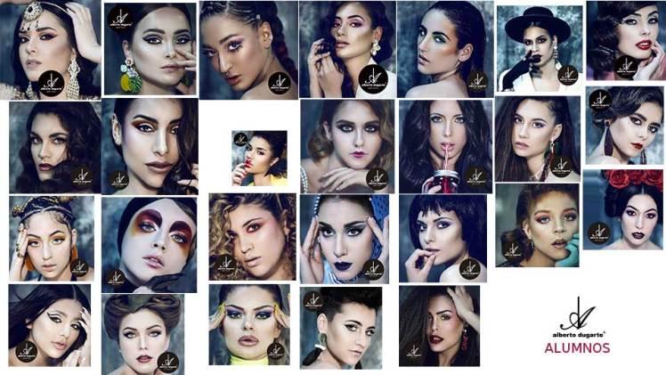 Curso Maquillaje Madrid - Asi maquillan nuestros alumnas y alumnos despues del curso de maquillaje.