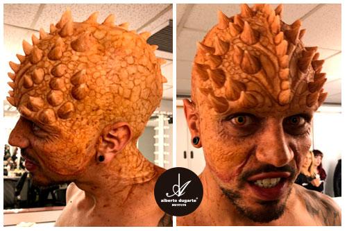 Maquillaje efectos especiales y Caracterizacion Fakir Got Talent