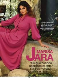 Maquillaje y Peluquería Marisa Jara para la revista Diez Minutos.