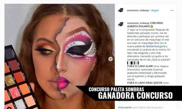 Concurso Maquillaje Paleta de Sombras de Alberto Dugarte