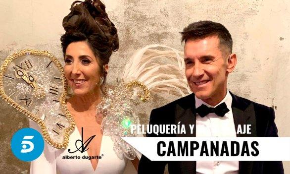 Campanadas Peluqueria y Maquillaje Telecinco