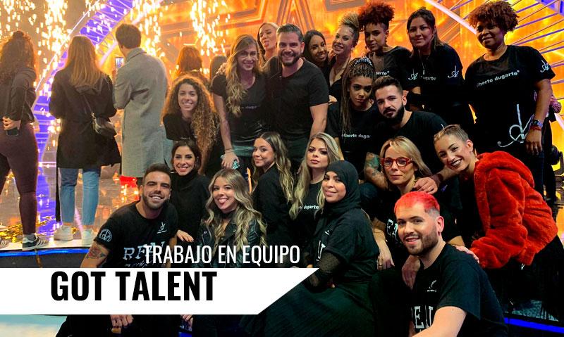 Equipo de Alumnos y Profesional de Alberto Dugarte Team