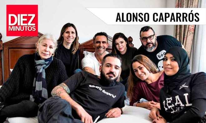 Alonso Caparros Revista Diez Minutos